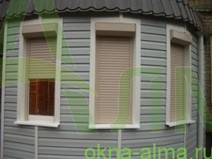 стоимость рольставней на узкие окна