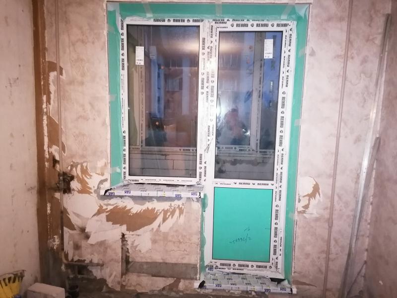 балконный блок при строительстве балкона