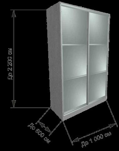 шкаф из алюминиевого профиля