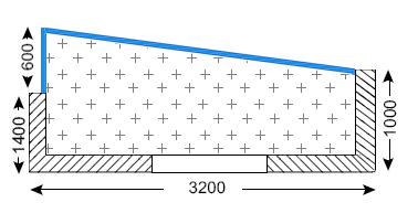 Балкон 3-ех метровый Г-образный