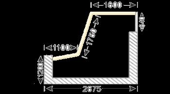 размеры балкона Маленький сапожок П-3