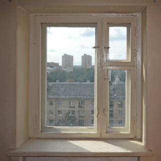 Старое окно