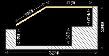 размеры лоджии лодочка П-3М