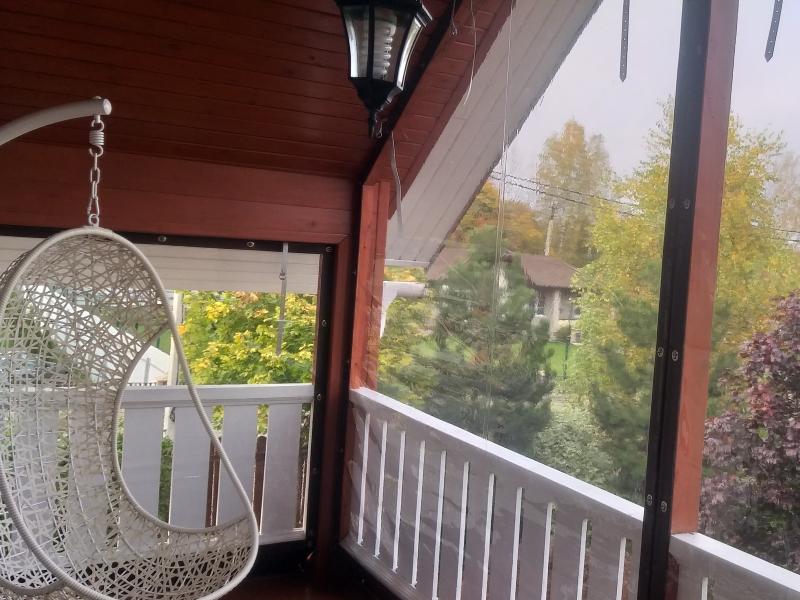 мягкие окна на веранду второй этаж
