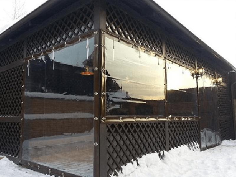 ПВХ окна для террасы