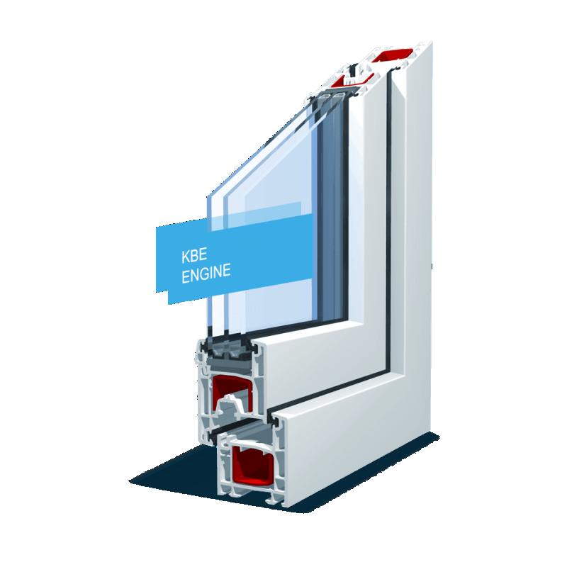Окно пластиковое расчет стоимости Профиль KBE Engine