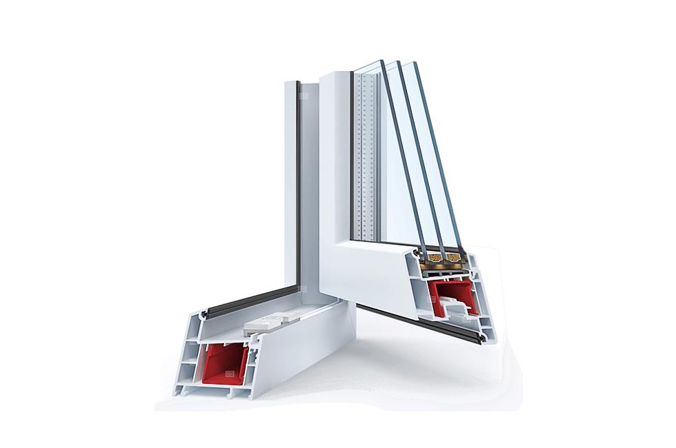 Окно пластиковое расчет стоимости Профиль Rehau Sib-design