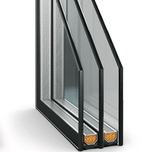Панорамные окна под ключ премиум