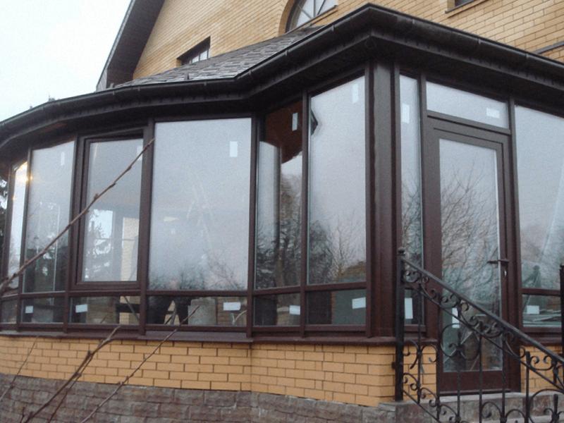 Алюминиевые оконные блоки