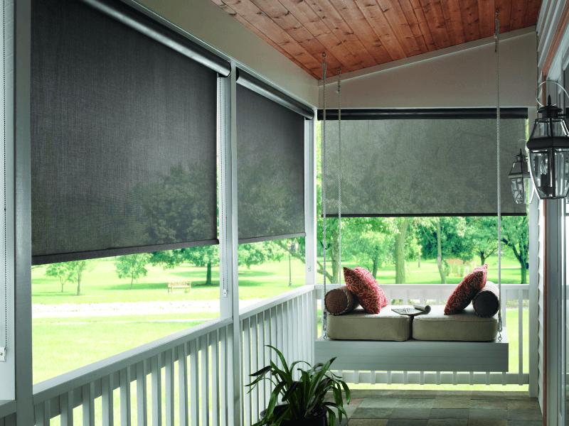 Рулонные шторы для веранды