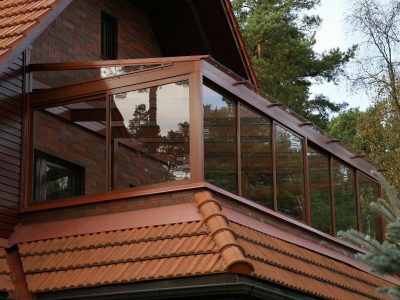 Балкон на даче от производителя
