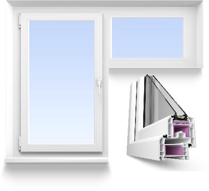 Г образное окно эконом