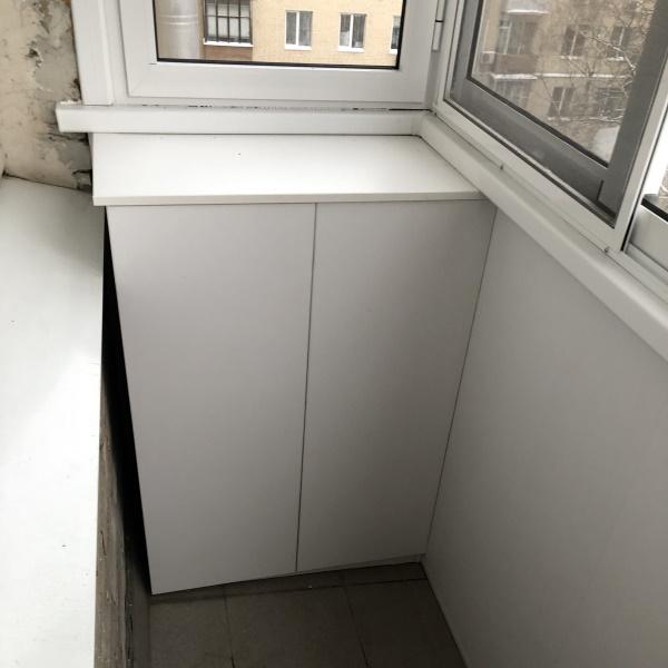 Шкаф, тумба и жалюзи на балкон - фото 3