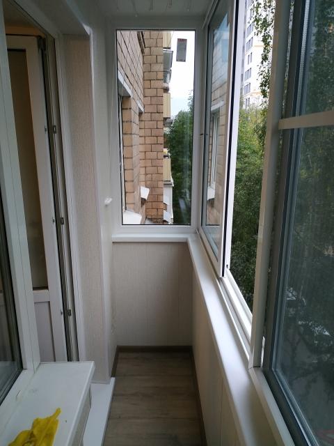 холодное застекление балкона хрущевки