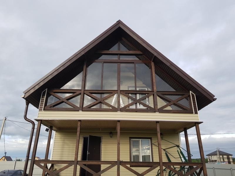 жидкие окна на балкон