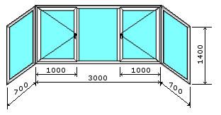 Остекление балконов и лоджий цена в уфе. цена.